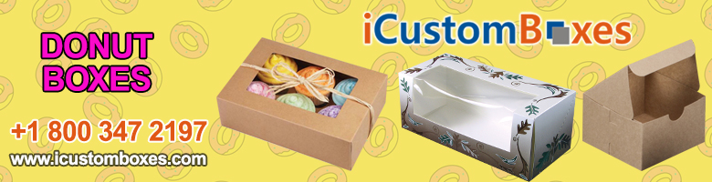 Custom Donut Boxes Wholesale Canada